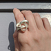 Squiggle Band Ring