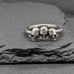 Triumvirate of Skulls Ring