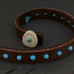 Beaded Leather Bracelets