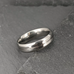 Center Groove Titanium Ring