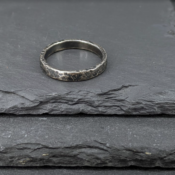 Rustic Stacker Ring