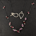 Scattered Ruby Necklace