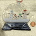 Family Fun Glass Christmas Ornament With Snowmen