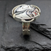 Fordite Cocktail Ring