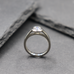 Open Bezel Solitaire Ring