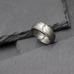 Damascus Ring with Edge Detail