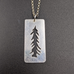 Tree Cut Out Pendant