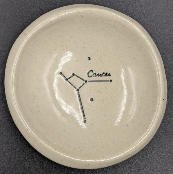 Ceramic Zodiac Ring Dish