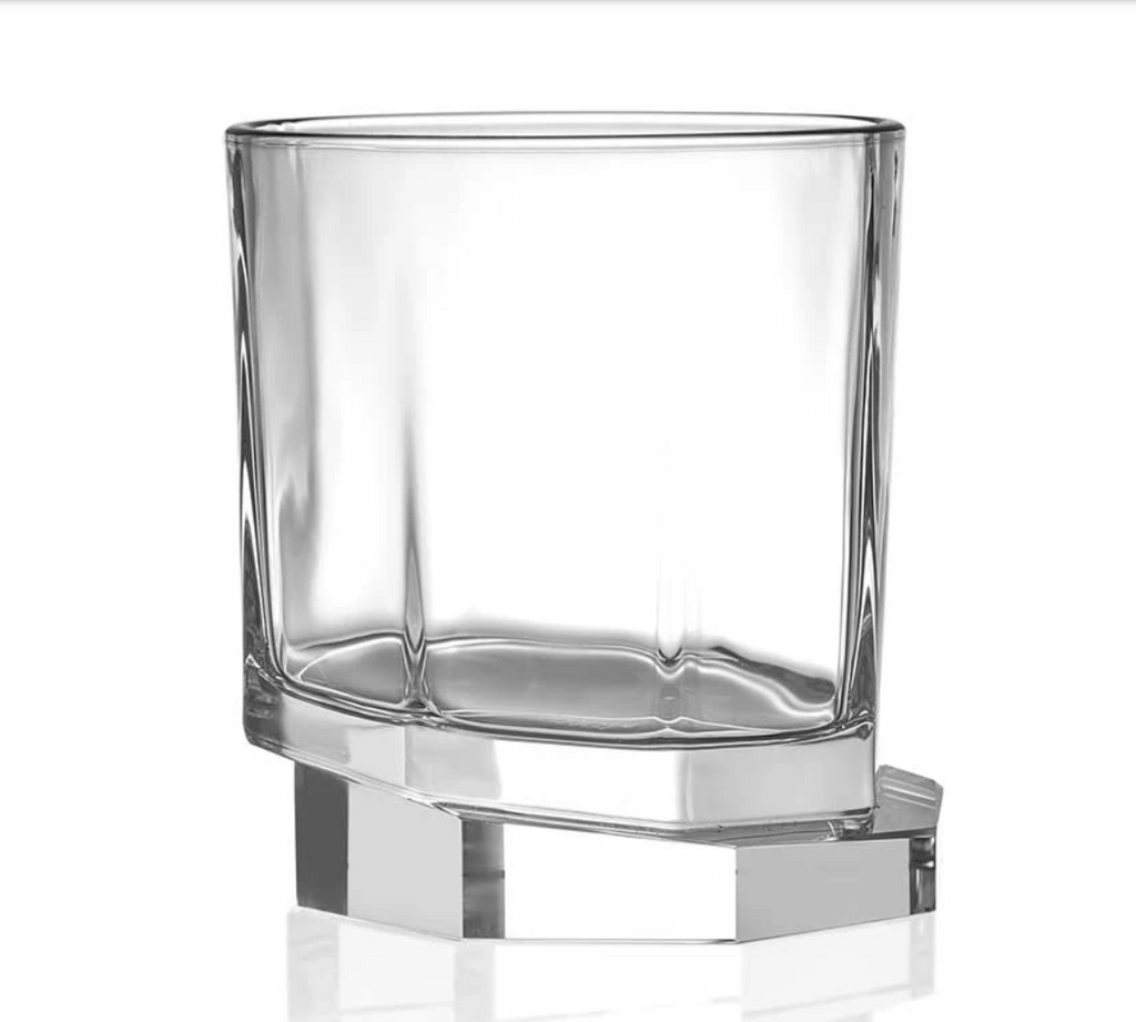 Octagon Whiskey Glasses