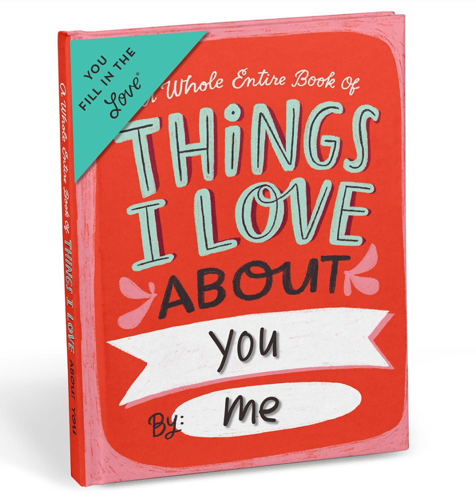 Emily McDowell Fill in Journal Things I love About You