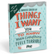 Emily McDowell Fill in Journal Things I want You To Know