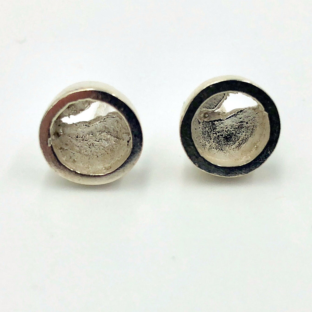 Sterling Circle Studs