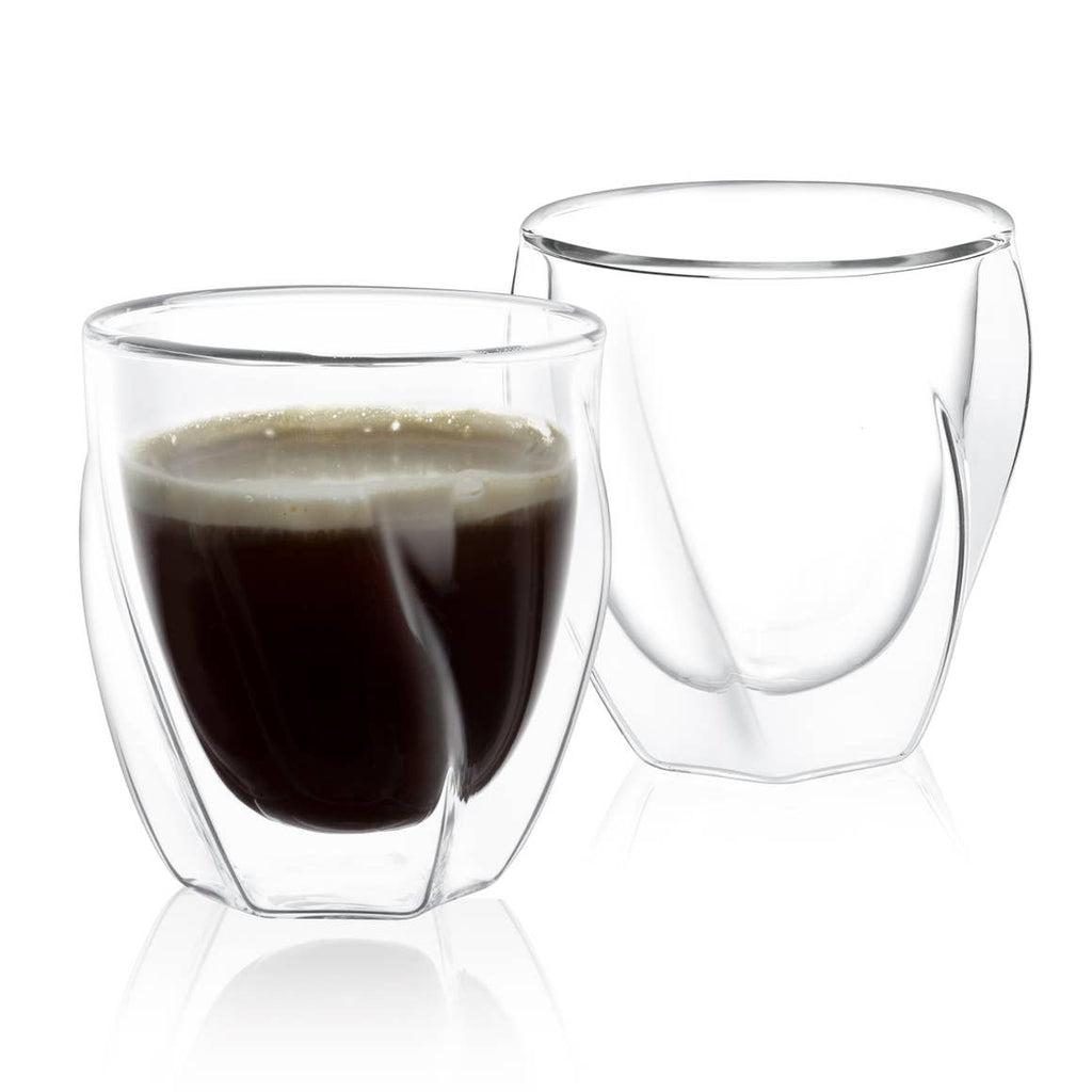Lacey Double Wall Glass set