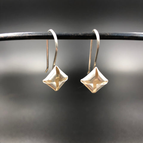 Quad Drop Earrings - Silver