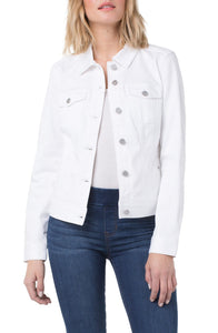 Classic Jean Jacket High Performance Denim - Bright White