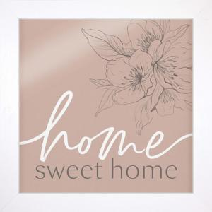 Home Sweet Home Framed Art