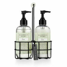 Magnolia Home 8oz Sink Caddy- Hand Wash & Lotion