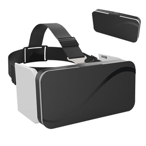 Foldable 3D Virtual Reality Goggles Headset