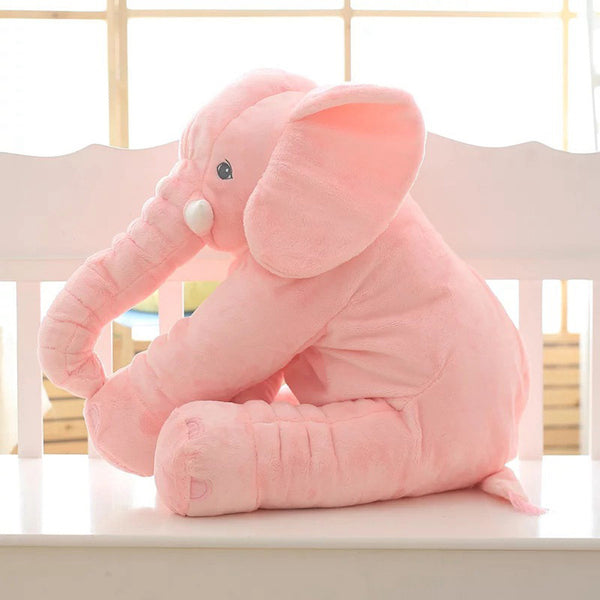 Large Long Nose Elephant Sleep Pillow Baby Plush Toy
