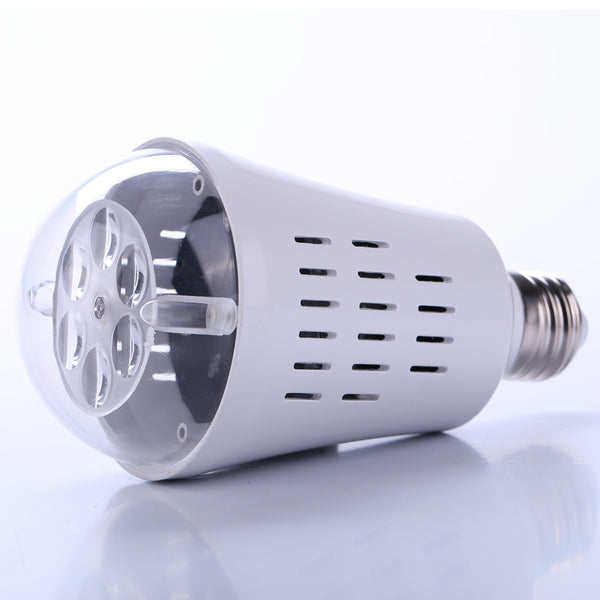 Snowflake Laser Light Projection Projector Landscape LED Rotate Light Bulb