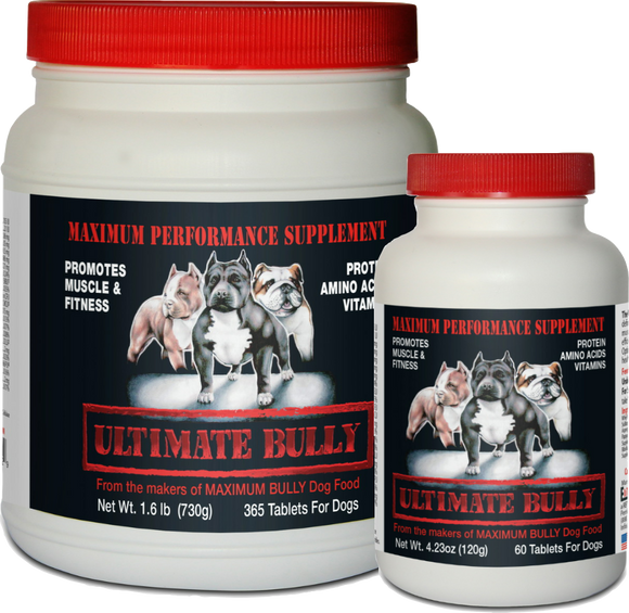 Ultimate Bully Performance Dog Supplements