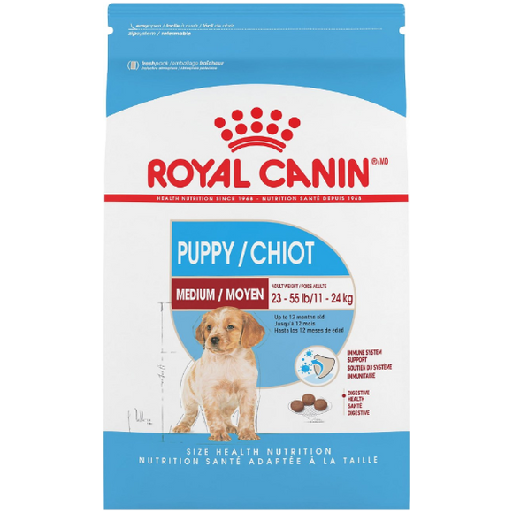 Royal Canin Dog Dry Puppy Medium 30lb