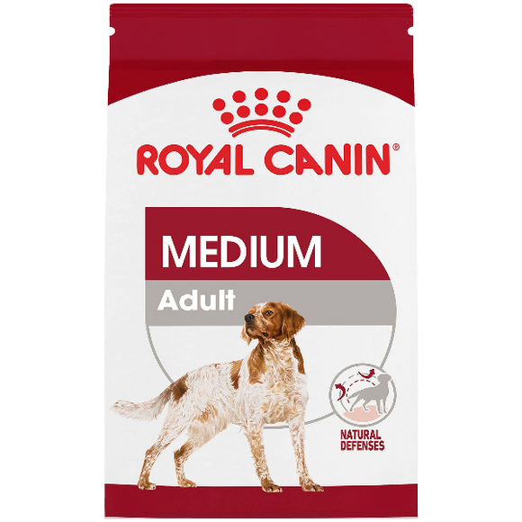 Royal Canin Dog Dry Medium 30lb