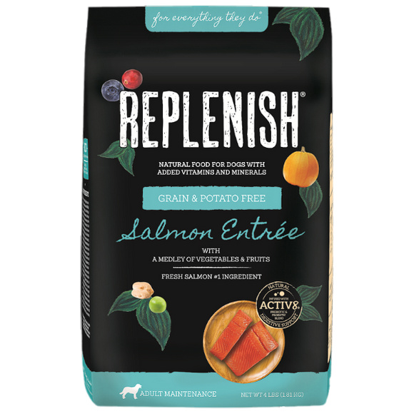 Replenish Activ8 Salmon Grain & Potato Free Dog Food