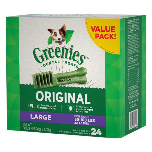 Greenies Original Large 36 oz