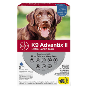 K9 Advantix II X‐Large over 55 lbs. 6 Pack