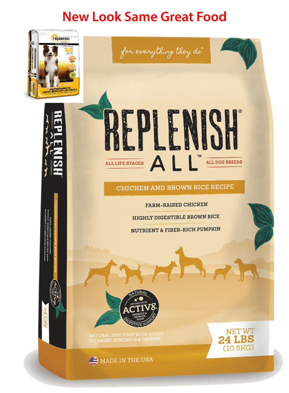Replenish Classic Chicken, Brown Rice and Pea Dog Food
