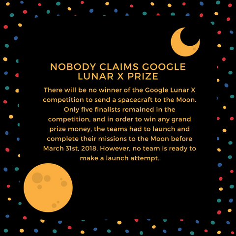 Nobody Claims Google Lunar X Prize