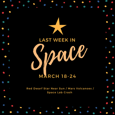last week in space march 18-24