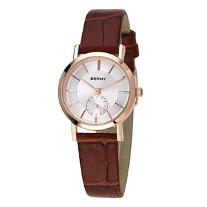 SUNSET Rose Gold ladies watch