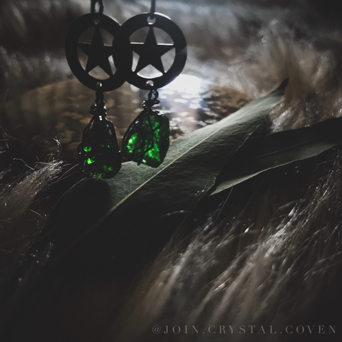 Elphaba Earrings