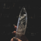 Clear Quartz Athame - The Banisher