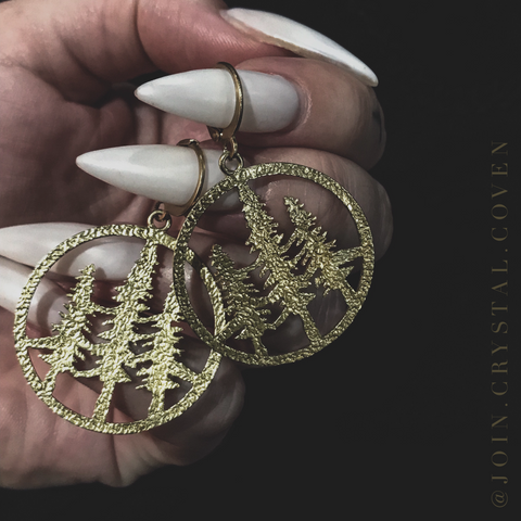 The Sacred Grove Earrings