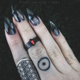 Lover of the Macabre Coffin Ring - 7.5