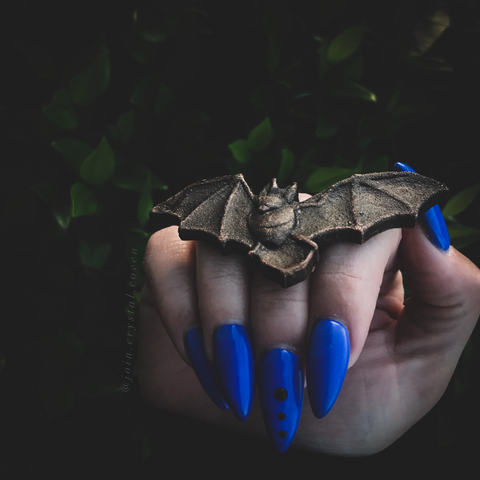 Bat Ring of Transformation Size 7.5