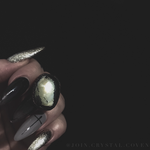 The Pyrite Ring of Manifesting Abundance - Size 8.5