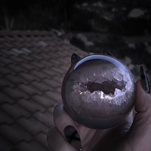 The Vampire's Amethyst Crystal Ball