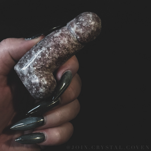 Medium Lepidolite D - Fertility Totem II