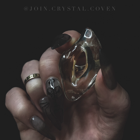 The Sacred Feminine in Smoky Quartz
