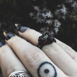 The Pyrite Ring - Size 5.5