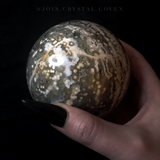 Depths of Wonder Ocean Jasper Crystal Ball