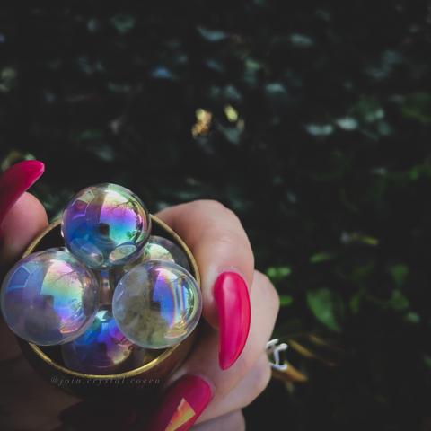 Angel Aura Quartz Mini Sphere