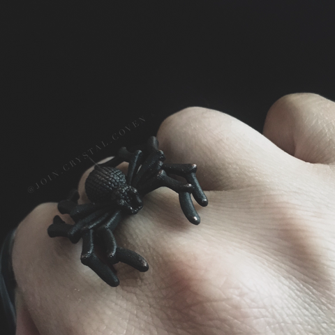 Spider Ring -Size 8