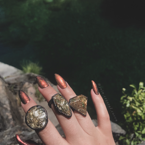 The Passion Flower Apothecary Series Rings - Size 5, 5.25, 5.75