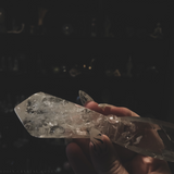 Clear Quartz Athame - The Athena