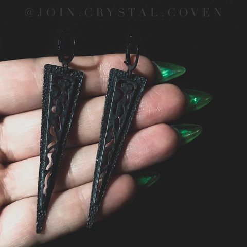 The Angular Oracle Earrings